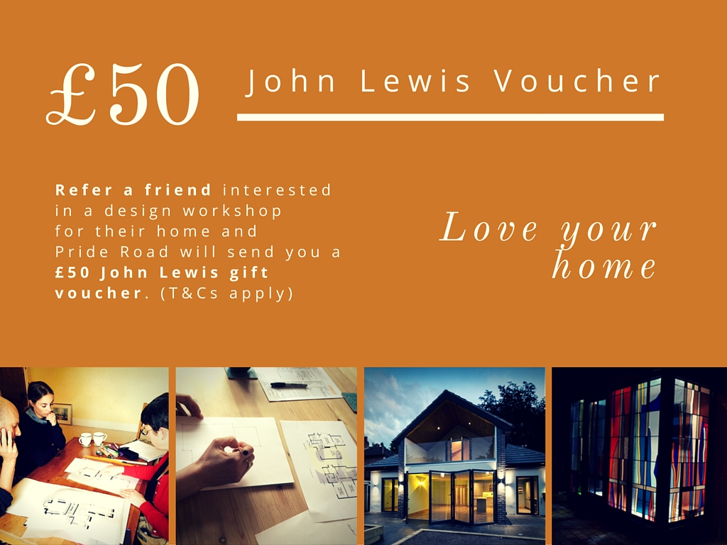 Pride Road Architects - John Lewis voucher