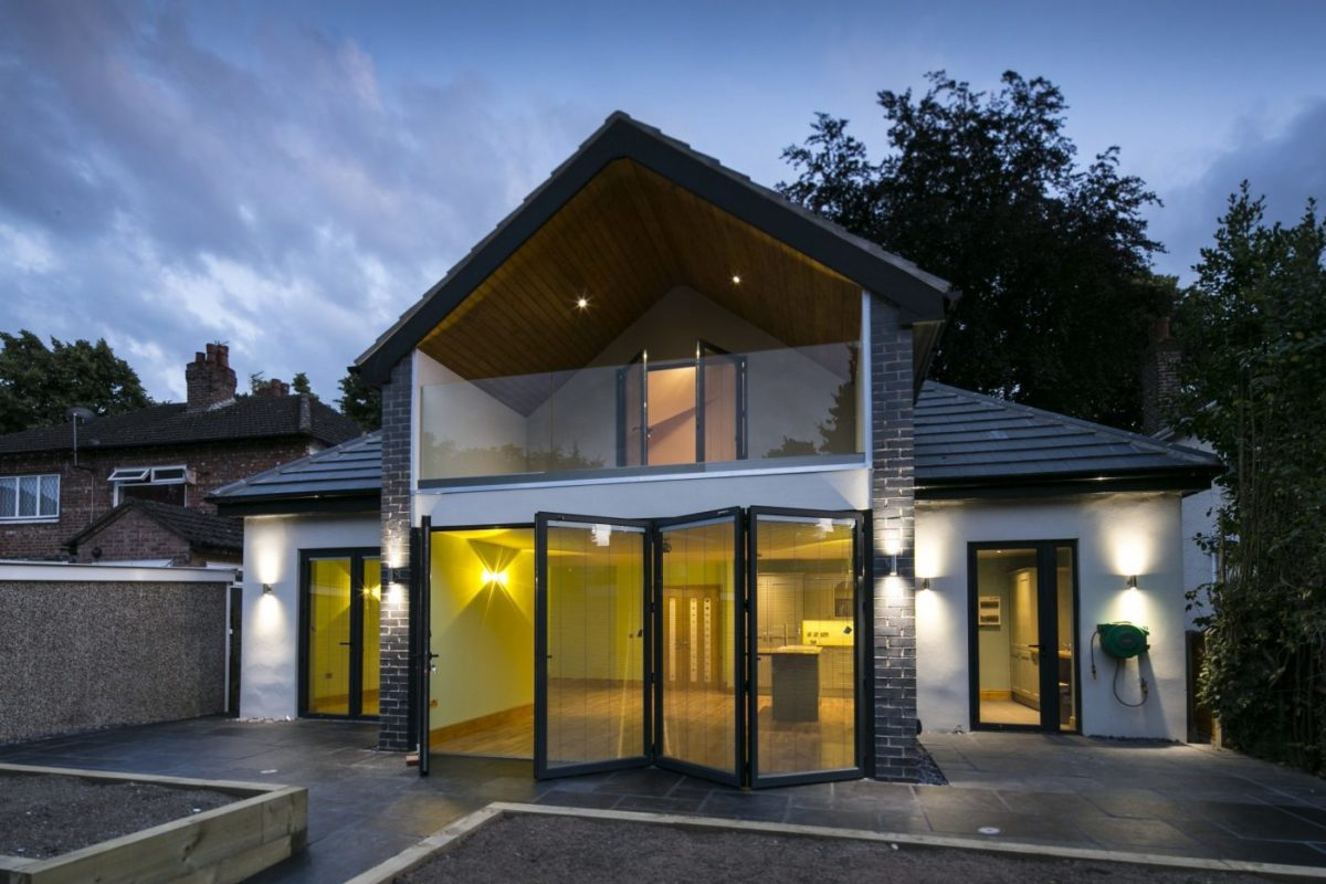 This Manchester loft conversion and extension shows our architectural design skills.