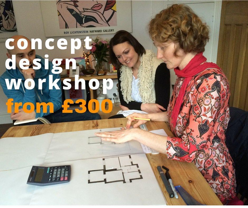 concept design workshop from £300 v 2