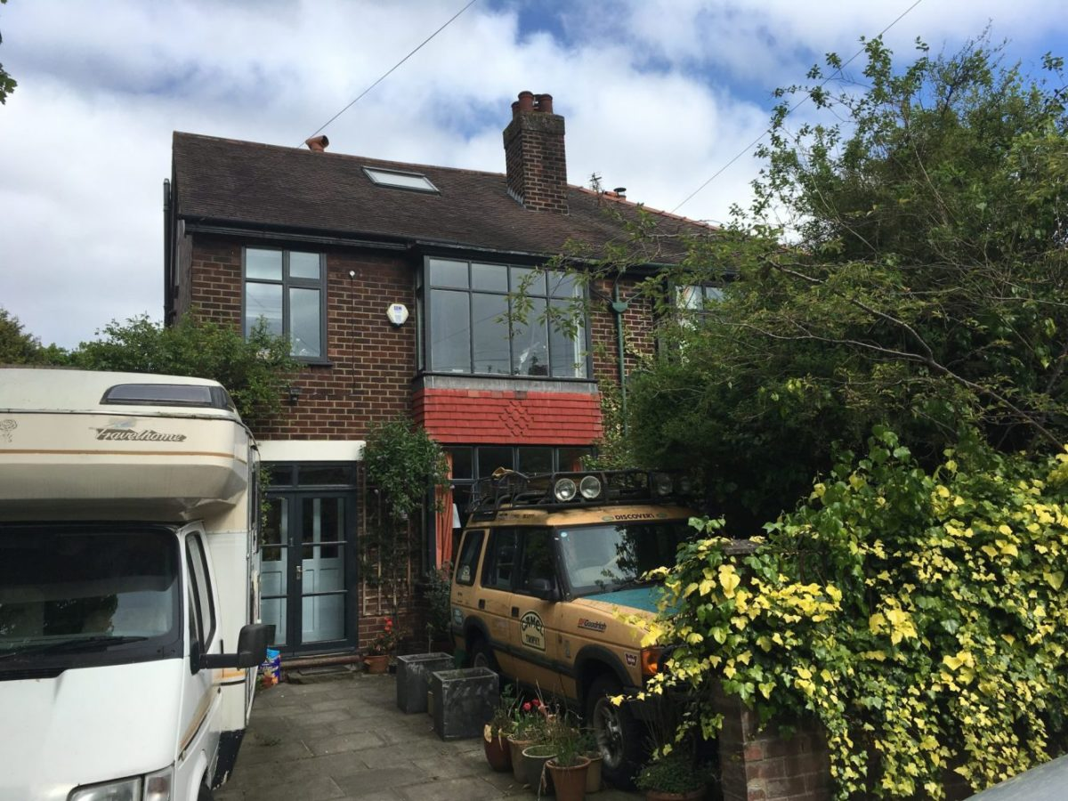 Extension Over A Garage 1930s Semi Detached House In