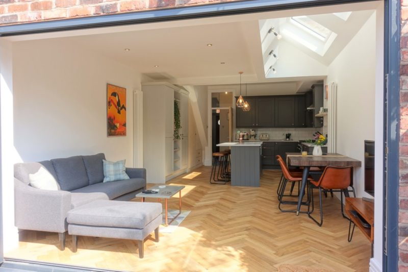 Mid Terrace House Extension Chorlton Greater Manchester Pride Road Architects